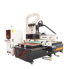 China T-Slot Table Multi Spindle Automated Wood Router , High Efficiency 3d Cnc Router supplier