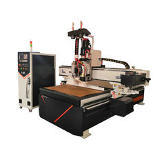 China Three Air Cooling Spindle Woodworking CNC Router Machine Large Load Bearing supplier