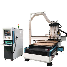China Well Welded Wood Cutting Cnc Router Machine Auto Lubrication System Easy To Operate distributor