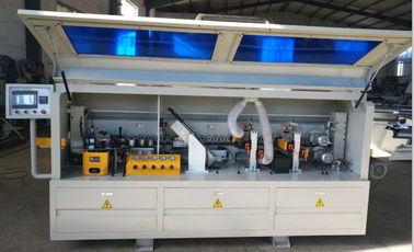 China Furniture Production Line Automatic Edge Banding Machine 0.4-2.5mm Edge Thickness distributor