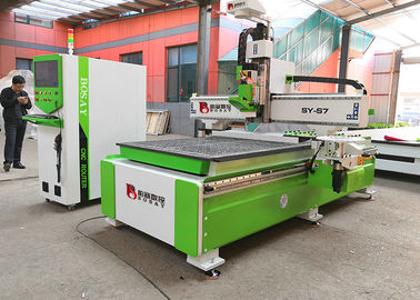 China ATC 1325 Cnc Router Machine , Woodworking Cnc Machines With Customized Color factory