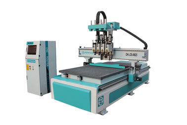 China Servo System 1325 CNC Router Machine With T - Slot And Vacuum Working Table distributor
