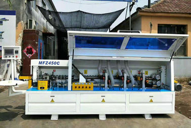China MFB503 Auto Edge Banding Machine Low Noise With Multiple Air Cylinder factory